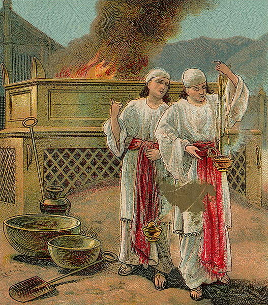 The Sin of Nadav and Avihu-Providence Lithograph Co.