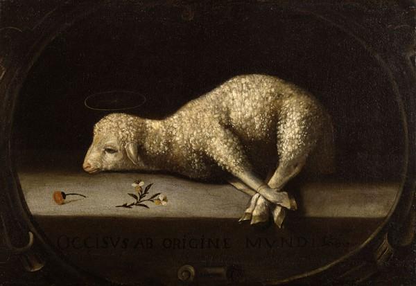 The Sacrificial Lamb-Josefa de Ayala