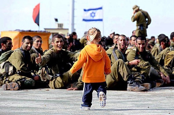 IDF-warm-welcome-child-girl