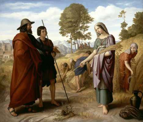Julius-Carolsfeld-Ruth-Field-Boaz
