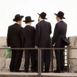Ultra-orthodox Jewish-Old City of Jerusalem-David's Tower