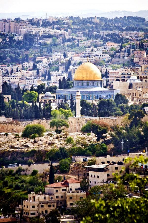 Jerusalem-Dome of the Rock-Temple Mount