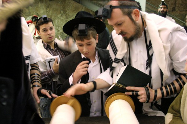 reading-Torah-Bar Mitzvah