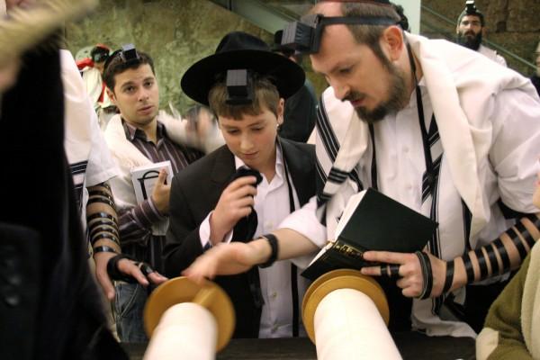 reading-Torah-Bar Mitzvah