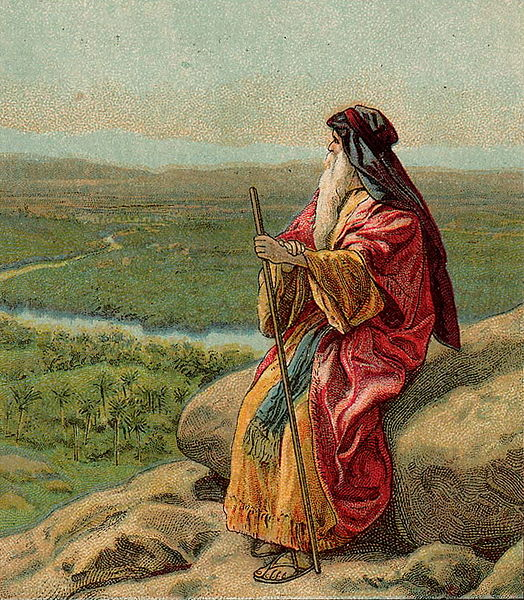 Moses Pisgah Death of Moses Jordan River