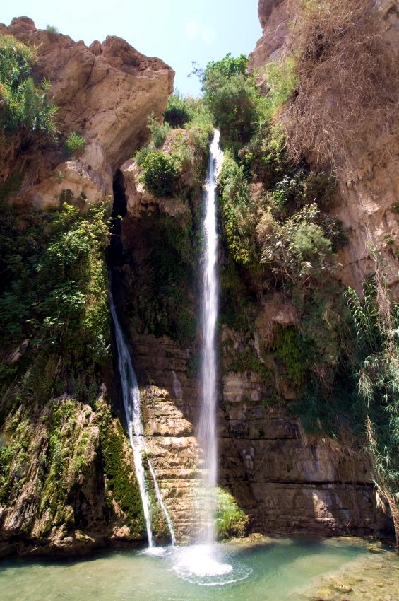 waterfall-En Gedi