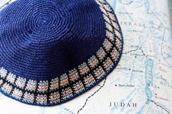 kippah-map-Israel
