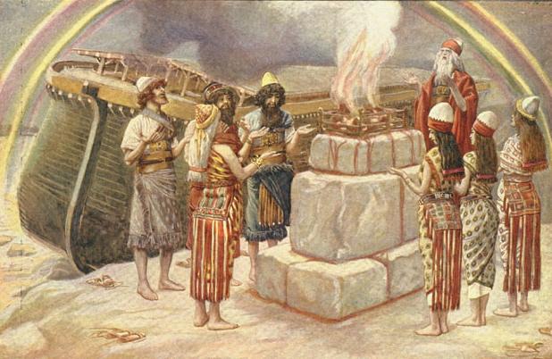 James Tissot-Noah's Sacrifice