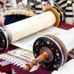Torah scroll-Kotel Independence Day
