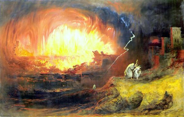 The Destruction of Sodom and Gomorrah-John Martin