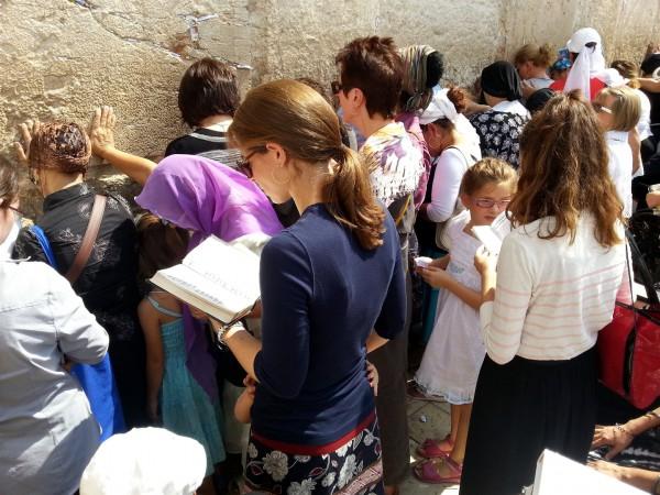 women-Western (Wailing) Wall-Jerusalem