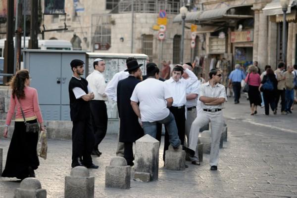 Young Jewish-Jaffa Gate
