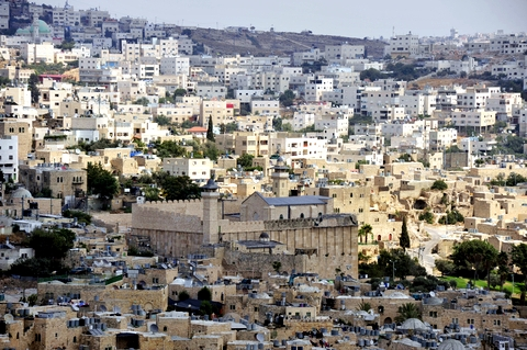 In the heart of Hebron's old city lies the Cave of Machpelah, also known as the Cave of the Patriarchs
