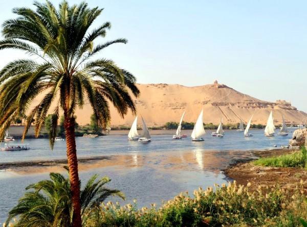 Nile-sailboats