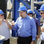 US Ambassador-Daniel Shapiro-Visits-Hadera Desalination Plant