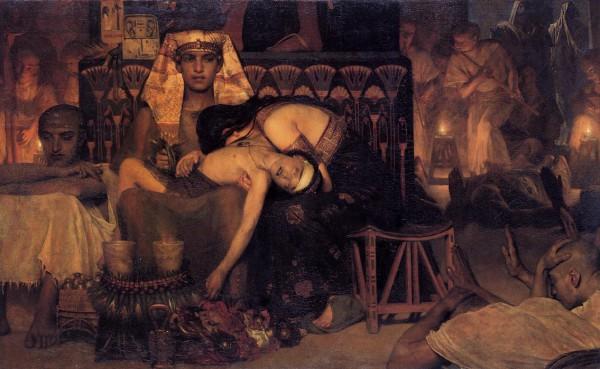 Death of Pharaoh's Firstborn Son-Lawrence Alma Tadema