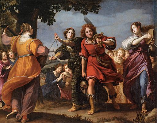 The Triumph of David-Matteo Rosselli