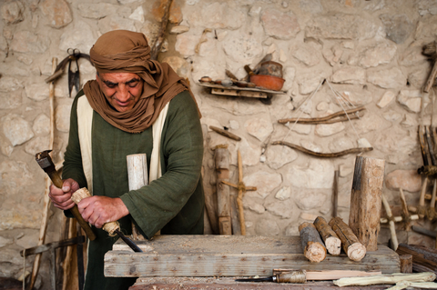 re-enactor-1st Century-Carpenter-Nazareth