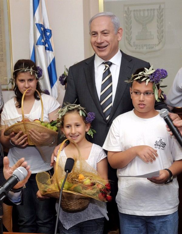 Netanyahu-Shavuot-baskets