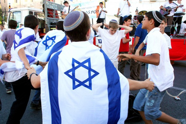 dancing-Yom Yerushalayim-Jerusalem