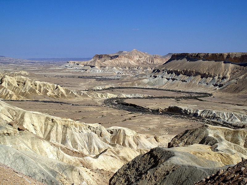 Zin Valley-Negev Desert- Israel