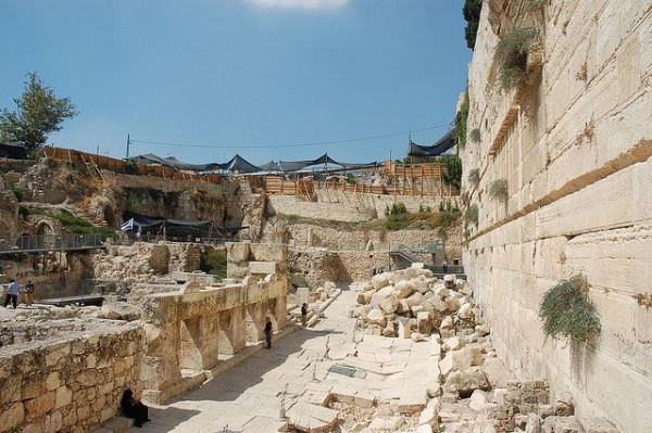 Excavations-Temple Mount