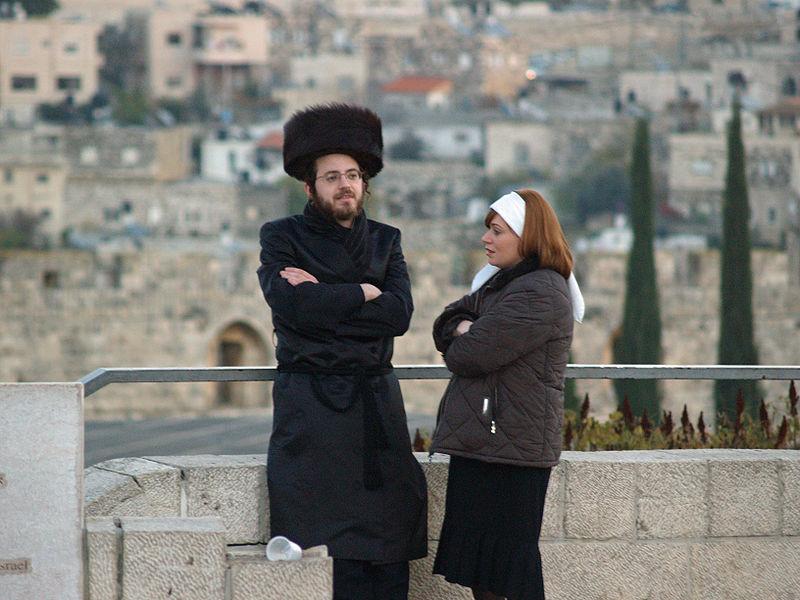 Orthodox-couple-Shabbat-Jerusalem