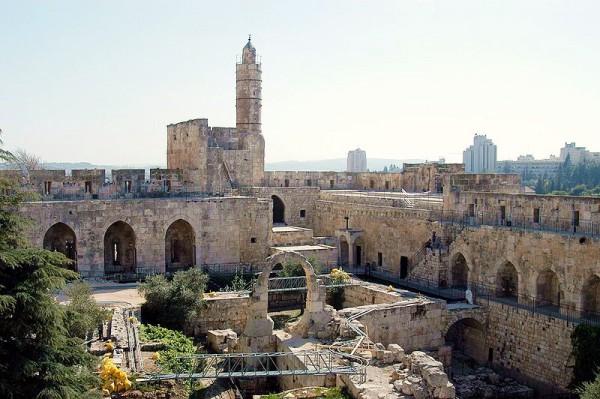 Tower of David-Jerusalem-Archaeological Gardens