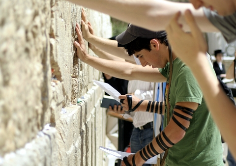 Praying-Western Wailing Wall-Jerusalem