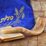 shofar, Torah, tallit