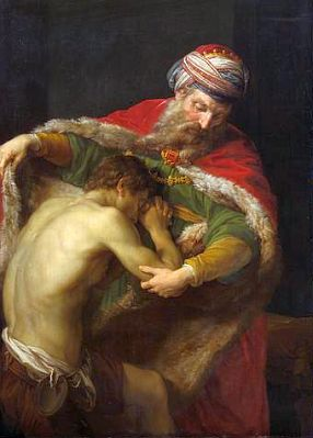 The Return of the Prodigal Son, by Pompeo Batoni