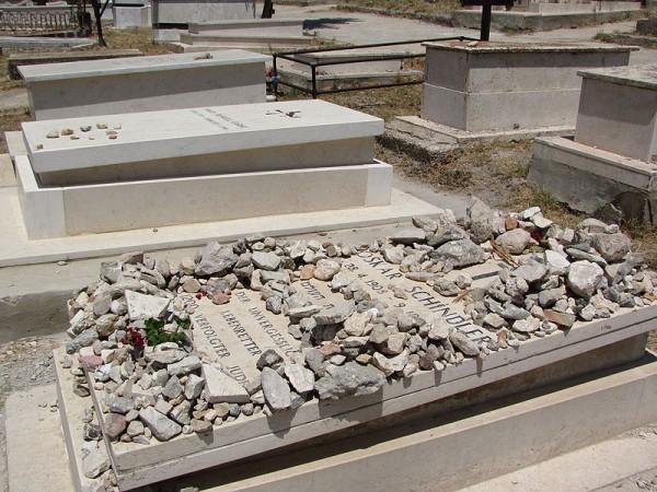 Schindler-grave-Franciscan Cemetery