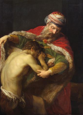 The Return of the Prodigal Son-Pompeo Batoni