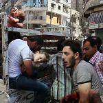 wounded-children-civilians-Aleppo-Syria
