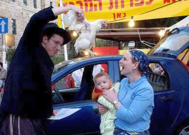 Kapparot-ritua-Yom Kippur-Chicken
