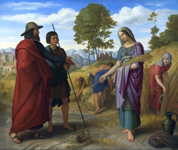Ruth in the Field of Boaz-Julius Schnorr von Carolsfeld