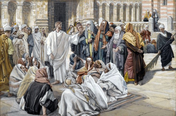Pharisees Question Jesus-James Tissot
