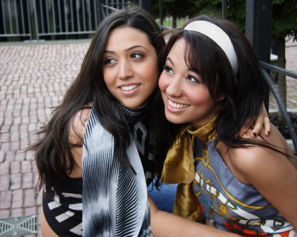 Young Israeli women-Smiling