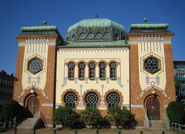 Malmo Synagogue-Bombed-July 2010