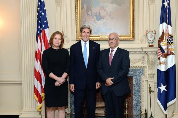 Kerry-Livni-Erekat