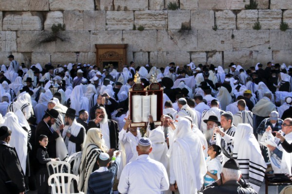 Hagbah-Kotel-Chag-Sefer-Festival