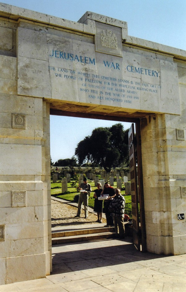 Poppies-War Cemetery-Mount Scopus-Remembrance Day