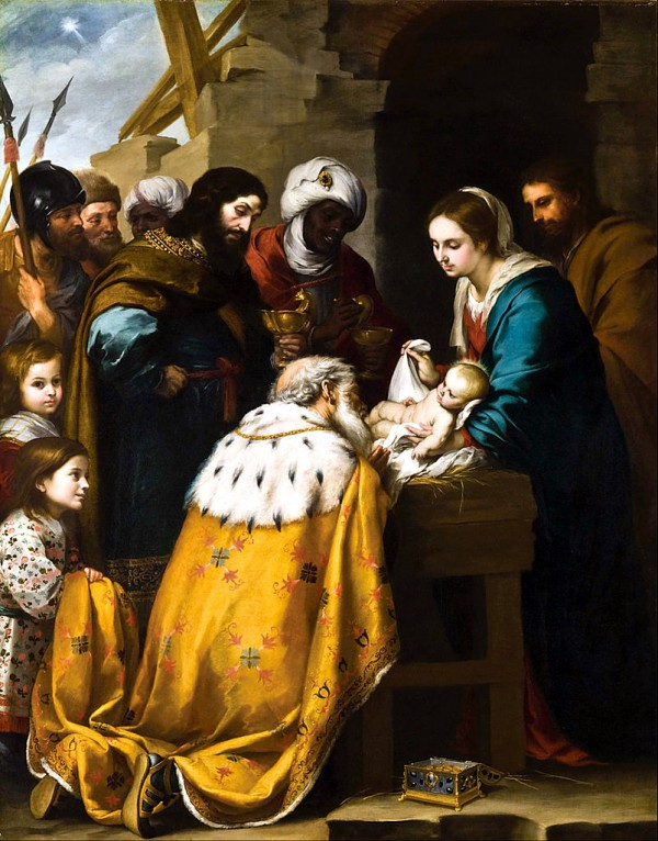 Adoration of the Magi-Bartolomé Esteban Murillo