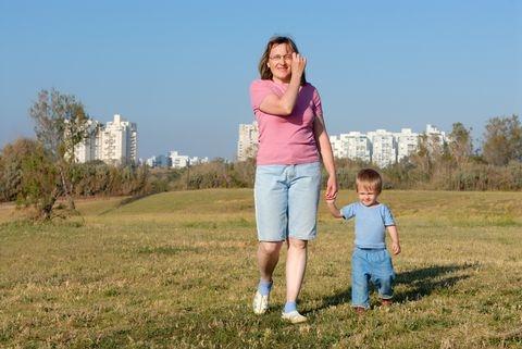 Ashkelon-mother-child