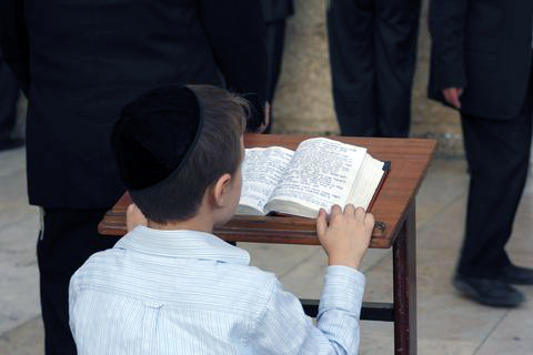 Child-Tanakh-Old Testament-Western Wall