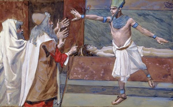 Pharaoh and His Dead Son-James Tissot