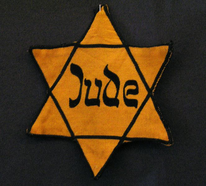 In November 1939, the Nazi government first introduced mandatory ID badges for Jews in Poland.  The yellow badge was considered to be one step in the Final Solution as it enabled them to isolate the Jews.  To enforce compliance, they announced,