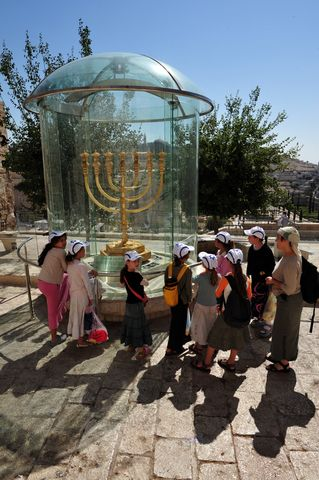 Children-Menorah-Old City-Jerusalem