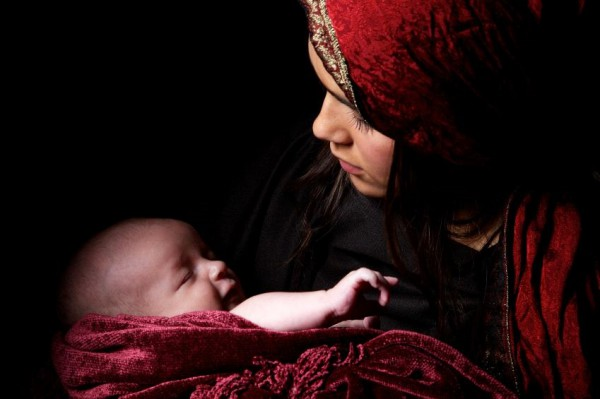 Mother and Child baby Mary