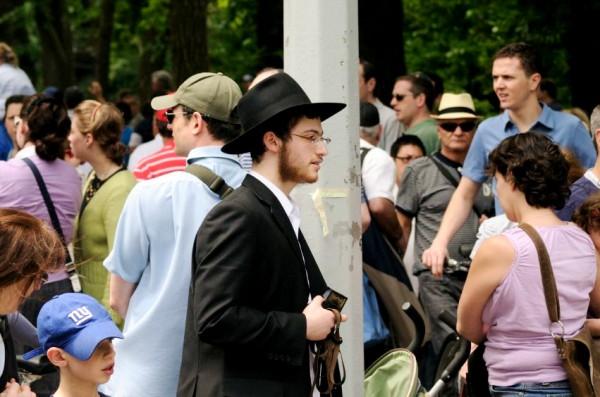 Chassidic Jewish ma-New York